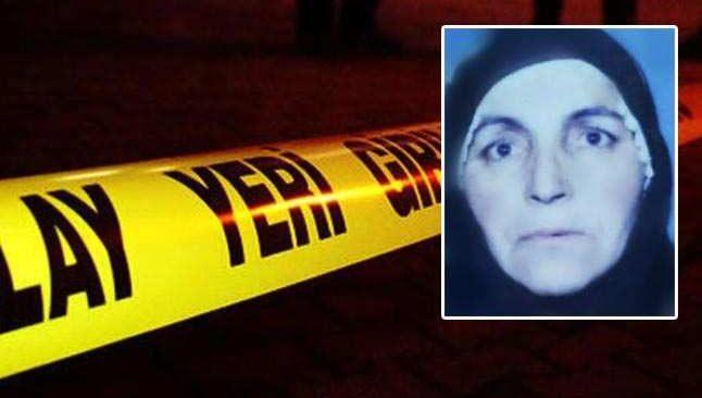 76 yaşındaki kadın cinayete kurban gitti