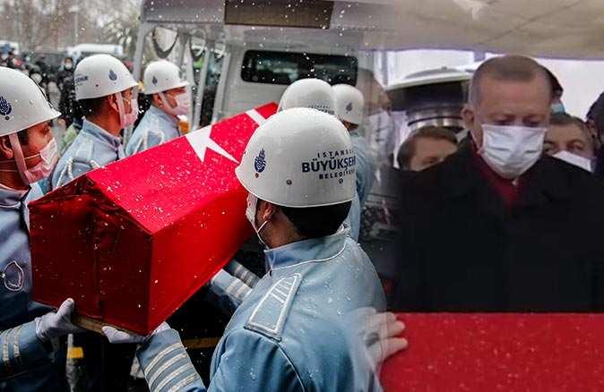 Kadir Topbaş son yolculuğuna uğurlandı! Cumhurbaşkanı Erdoğan'dan duygulandıran sözler