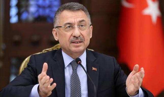 Cumhurbaşkanı Yardımcısı Oktay: KKTC'ye uygulanan ambargolar çağ dışıdır