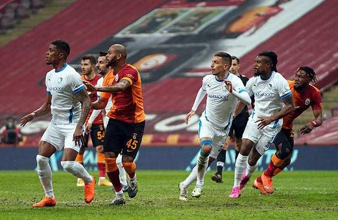 Galatasaray Erzurumspor'u yenerek üst üste 8'inci galibiyetini aldı