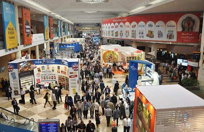 Gıda devleri Dubai Gulfood 2021'de bir araya geldi