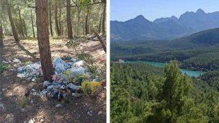 Ekosistem düşmanları Doyran Göleti'ni çöplüğünü çevirdi