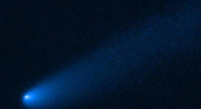 NASA'nın 'Hubble Teleskobu', Jüpiter yakınlarında kuyruklu yıldız görüntüledi