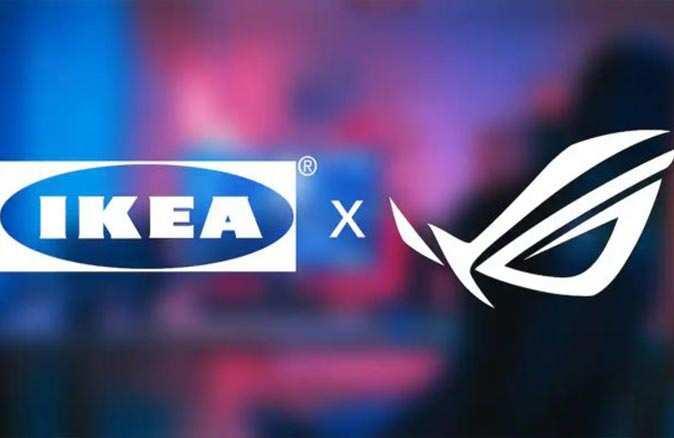 Oyunseverler bu habere dikkat! IKEA ve ASUS'tan dev hamle