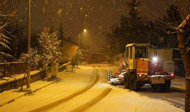 Isparta'da okullara kar tatili