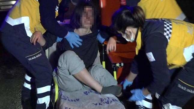 Antalya'da ailesinin haber alamadığı kız kanlar içinde bulundu