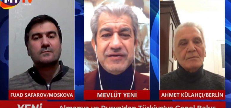 Yeni Bakış 30 Ocak 2021 Mevlüt Yeni -Ahmet Külahçı - Fuad Safarov