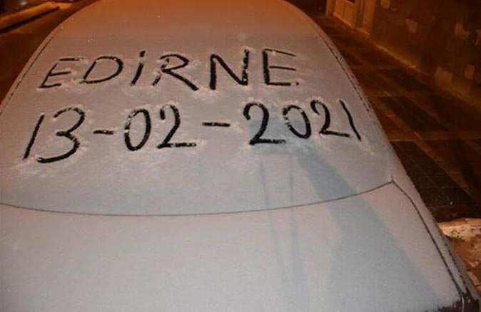 Meteoroloji uyarmıştı! Beklenen kar yağışı başladı