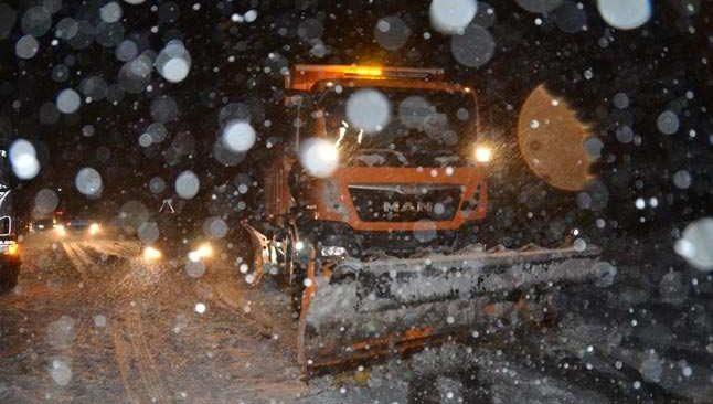 Antalya'da kar yağışı başladı