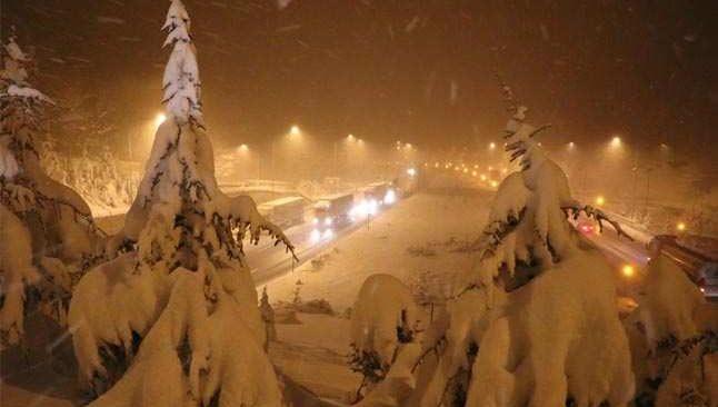 Meteorolojiden kar ve don uyarısı....