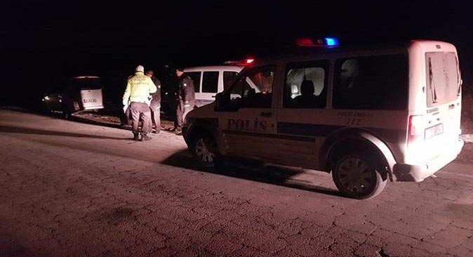 Kayseri'de polisi görünce panik yaptı, bir avuç hapı yuttu