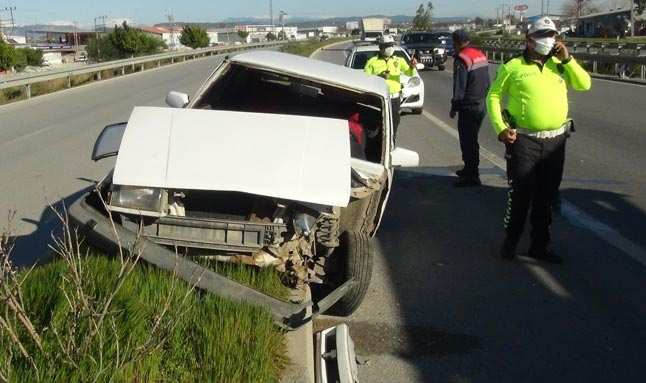 Alanya-Manavgat karayolunda korkunç kaza