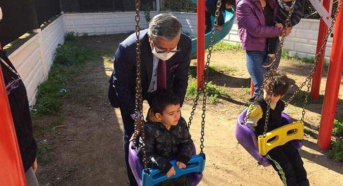 Kemer Belediyesi Başkanı Topaloğlu: 'Özel çocuklarımızın her zaman yanındayız'