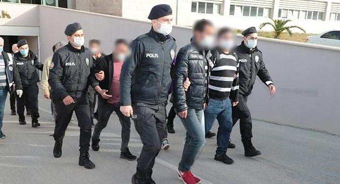 Antalya'da aranan şüpheliler yakalandı