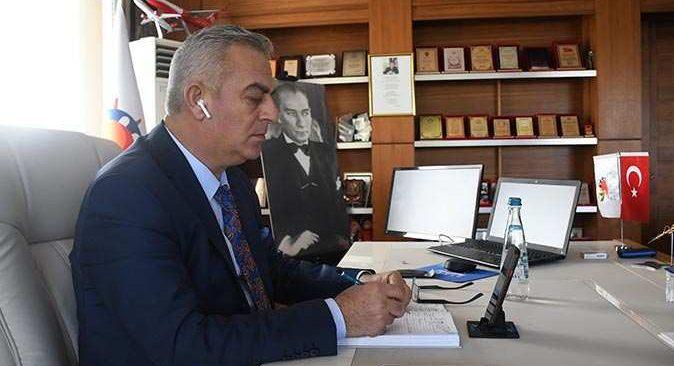 Kemer Belediyesi'nde 56'ıncı Cumhurbaşkanlığı Türkiye Bisiklet Turu mesaisi