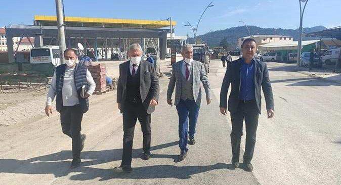 Kemer Belediyesi'nin alt ve üst yapı çalışmaları hız kesmeden devam ediyor