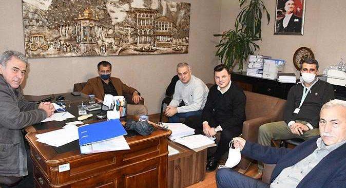 Kemer Belediyesi Denetim Komisyonu 'Şeffaf Belediyecilik' için bir araya geldi