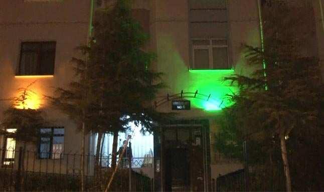 Mutasyonlu virüs iddiasıyla bir bina karantinaya alındı