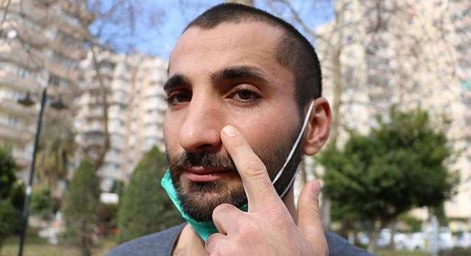 Antalya'da darp edilen kurye şikayetçi olduğuna pişman oldu