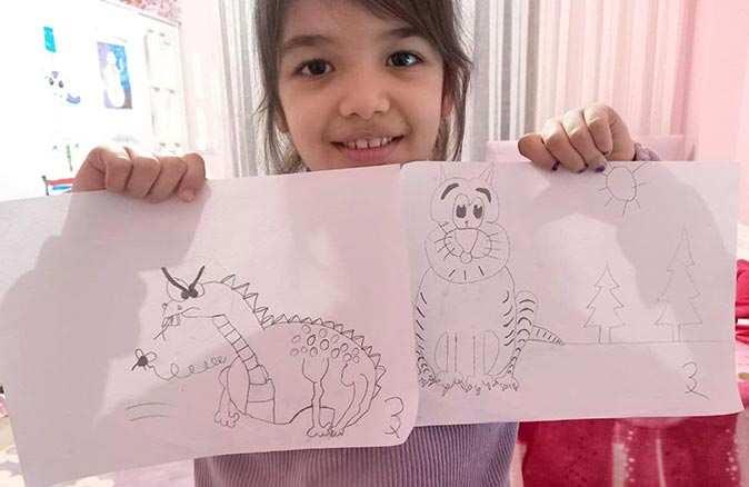 Çocuklar için online karikatür eğitimi büyük ilgi görüyor