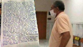 61 yaşında adam 13 yaşındaki çocuğa aşk mektubu yazdı