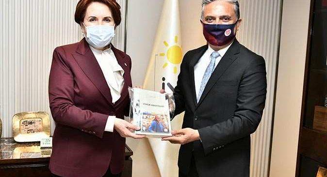İYİ Parti Genel Başkanı Akşener'den Muratpaşa Belediyesi'ne tam not