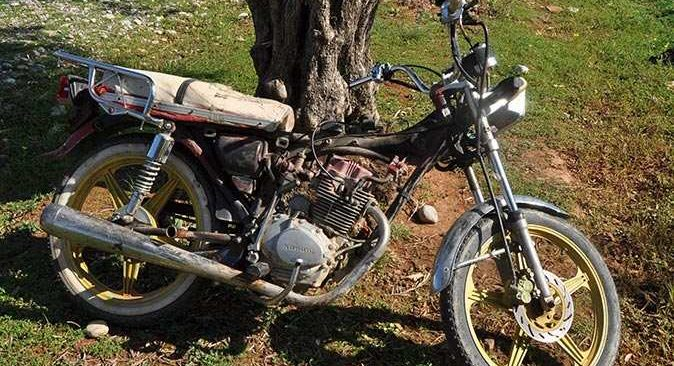 Avokado bahçesinde şüpheli bir motosiklet bulundu