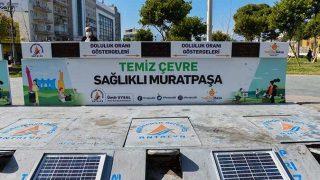 Muratpaşa Belediyesi'nden çevre kirliliğini azaltacak uygulama