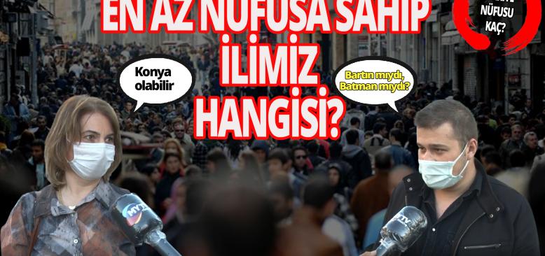 TÜİK açıkladı! Peki Türkiye'nin nüfusu ne kadar?