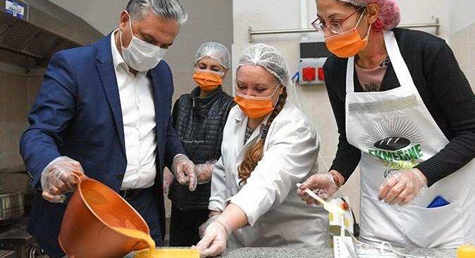 Muratpaşa Belediyesi'nin turunçları markalaşıyor