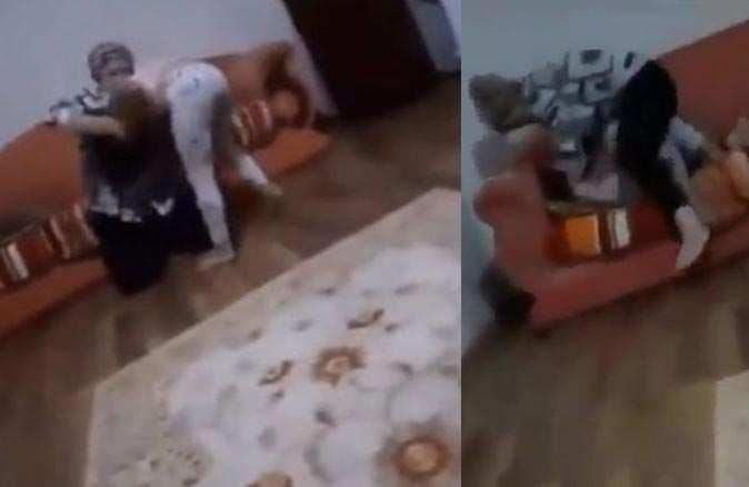 Annesi küçük kıza şiddet uyguladı, sosyal medya ayağa kalktı!