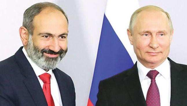 Putin, Paşinyan ile telefonda görüştü