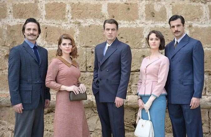TRT'nin yeni dizisi heyecanlandırdı! İşte 'Bir Zamanlar Kıbrıs'ın kadrosu ve konusu