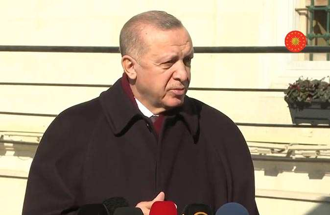 Cumhurbaşkanı Recep Tayyip Erdoğan'dan Boğaziçi'ndeki olaylara ilişkin açıklama