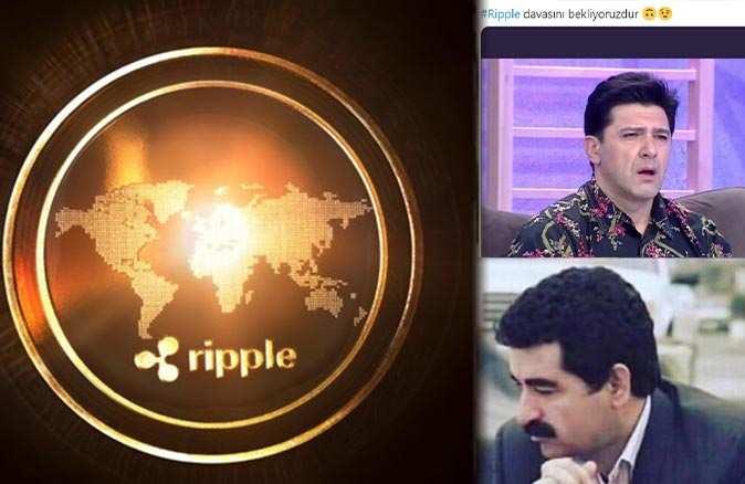 Kripto para piyasasının odaklandığı Ripple davası sosyal medya gündemine oturdu