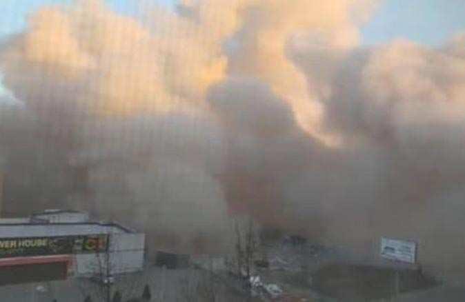 Rusya'da süpermarkette patlama! Bina yıkıldı