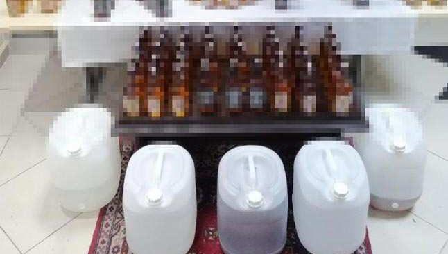 Kastamonu'da sahte alkol operasyonu