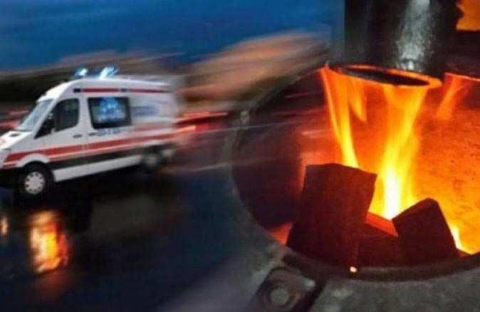 Trabzon'da sobadan sızan gaz can aldı