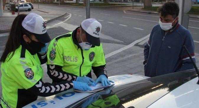Malatya'da kısıtlamaya uymayan vatandaşlara ceza yağdı