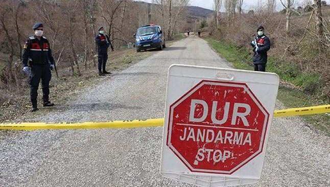 Dinar'daki 600 nüfuslu köy korona karantinasına alındı