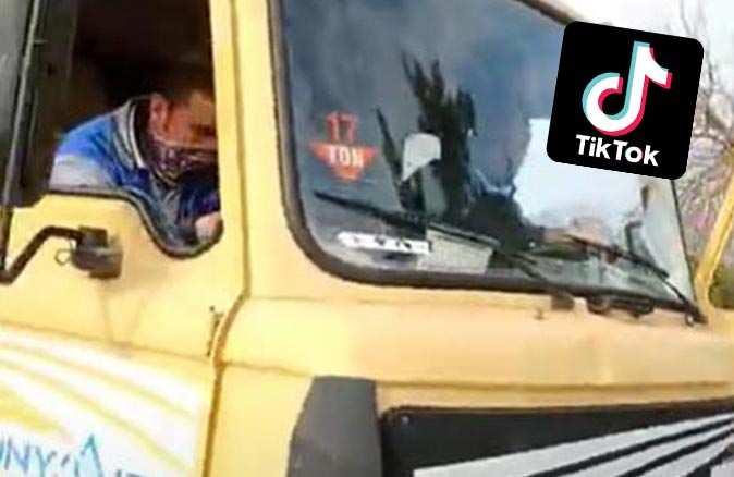 Gündem olan TikTok videosu ile ilgili belediyeden açıklama geldi