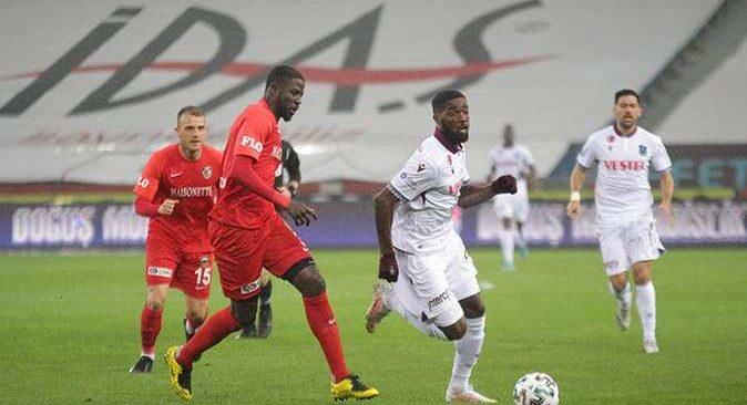 Trabzonspor Gaziantep'i yenerek galibiyet serisini sürdürdü