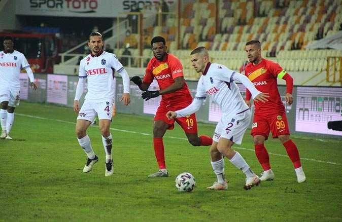 Son dakika: Trabzonspor Malatya'dan 3 puanla dönüyor