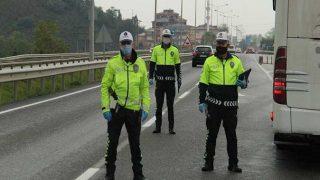 Samsun'da sürücülere 9,7 milyon TL ceza kesildi