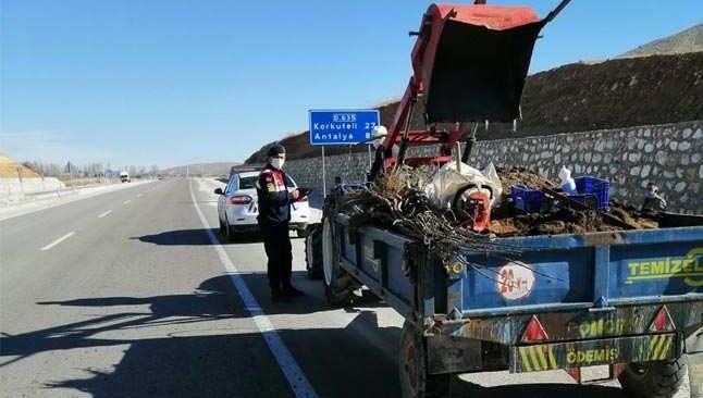 Jandarma göz açtırmadı, 310 kişiye ceza uygulandı
