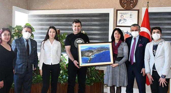 Kemer Belediyesi'nden Ukrayna ile Türkiye arasında kültür köprüsü
