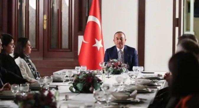 Dışişleri Bakanı Çavuşoğlu, Umman Dışişleri Bakanı Busaidi ile biraraya geldi