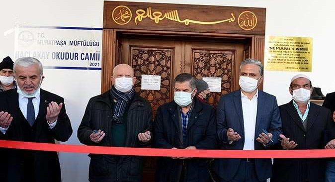 Hacı Akay Okudur Camii törenle ibadete açıldı