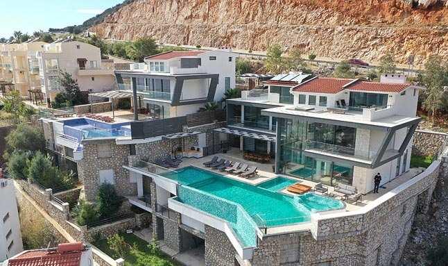 Villa turizmine 5 yıldızlı konfor