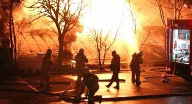 Boğaziçi Üniversitesi'nde yangın çıktı